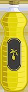 botella de aceite de orujo