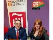 José Luis Yzuel, presidente y Susana Andrés Omella, Directora de Proyecto de Organic food Iberia de Hostelería de España y